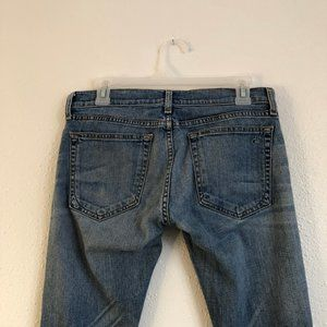 rag & bone Jeans - Rag & Bone Tomboy Boyfriend Jean Size 25